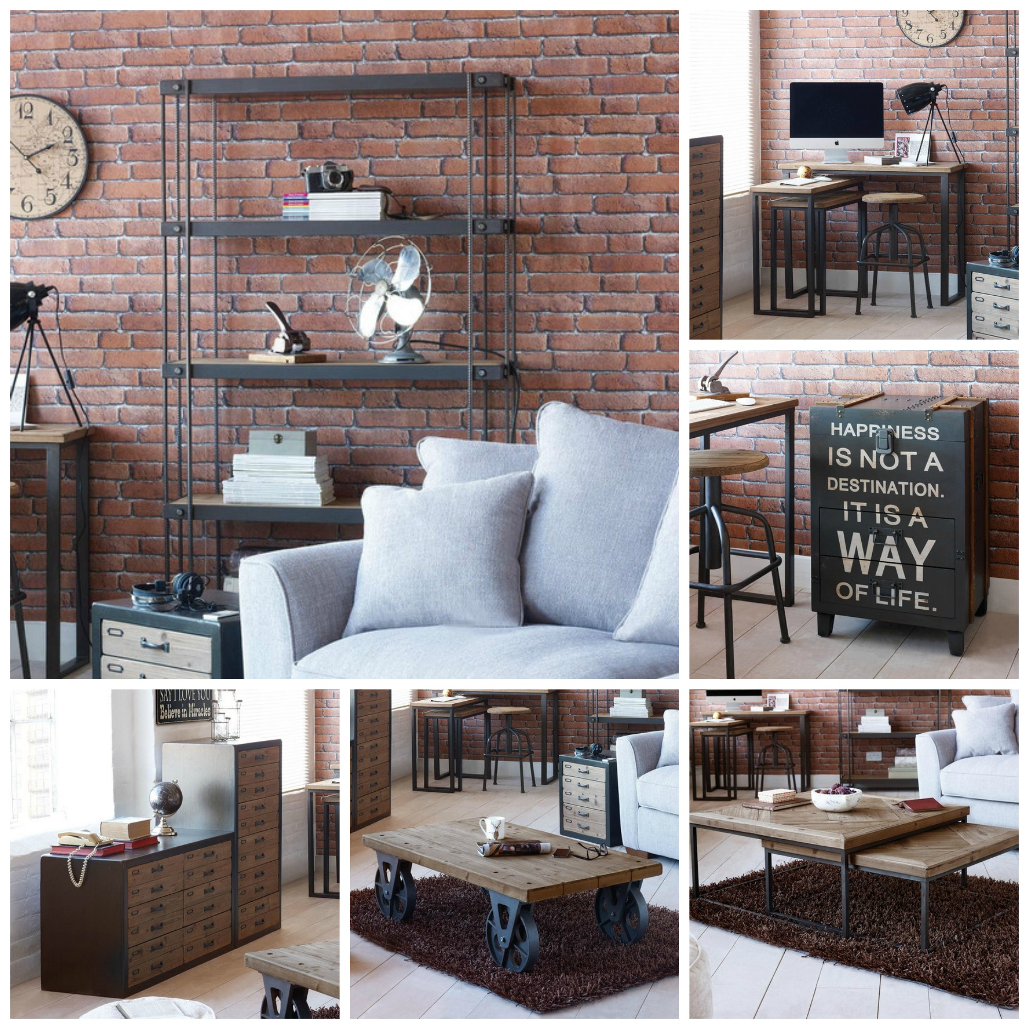 Freshdesignblogcom Rustic Industrial Living Room Furniture  Chatroulettebingonet Industrial Living