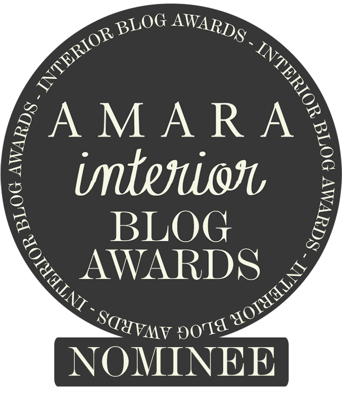 Vote for Fresh Design Blog in the Amara Interior blog awards