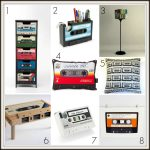 Fresh Design Favourites: Cassette tape inspired homeware