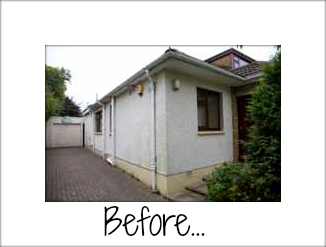 Sandtex exterior house paint makeover