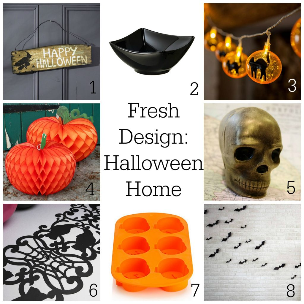 Fresh Design blog Halloween home decor ideas