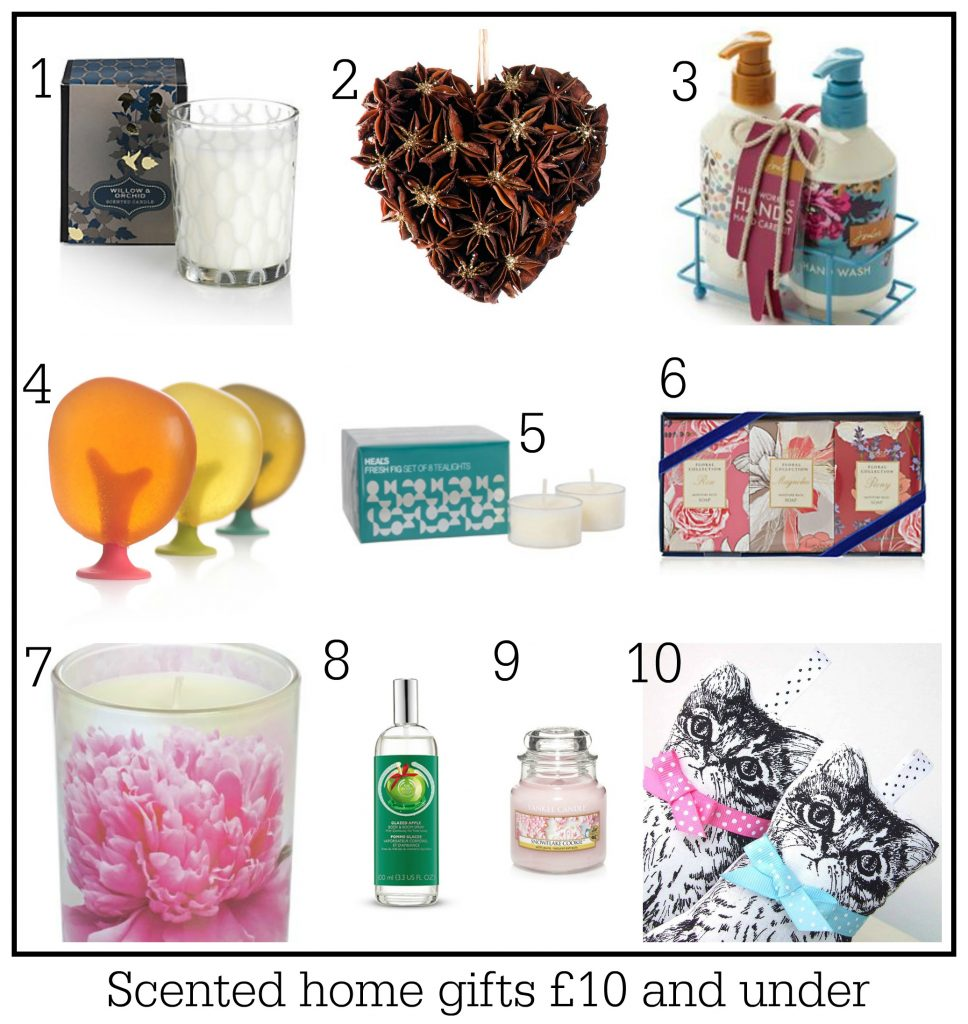 Home Design Gift Ideas: 10 Scented Home Gift Ideas: All Priced £10 And Under