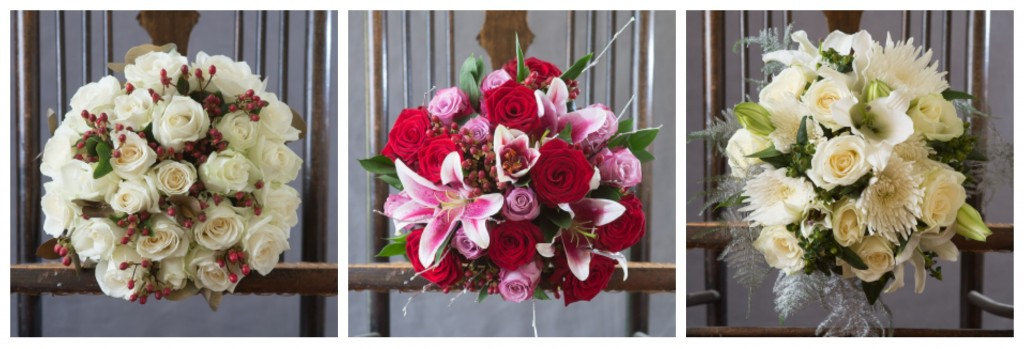 Contemporary Christmas flowers featured on Fresh Design Blog