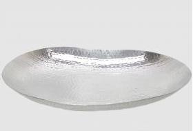Syrian silver salad bowl