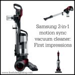 Samsung Motion Sync 2-in1 vacuum cleaner VU7000 review: First impressions