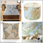Get your décor mapped out with these map themed home ideas