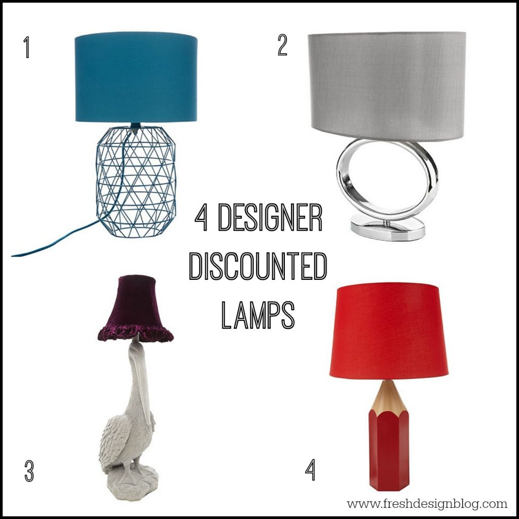 Designer home lighting for less