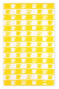 Bright yellow tea towel from Jangneus