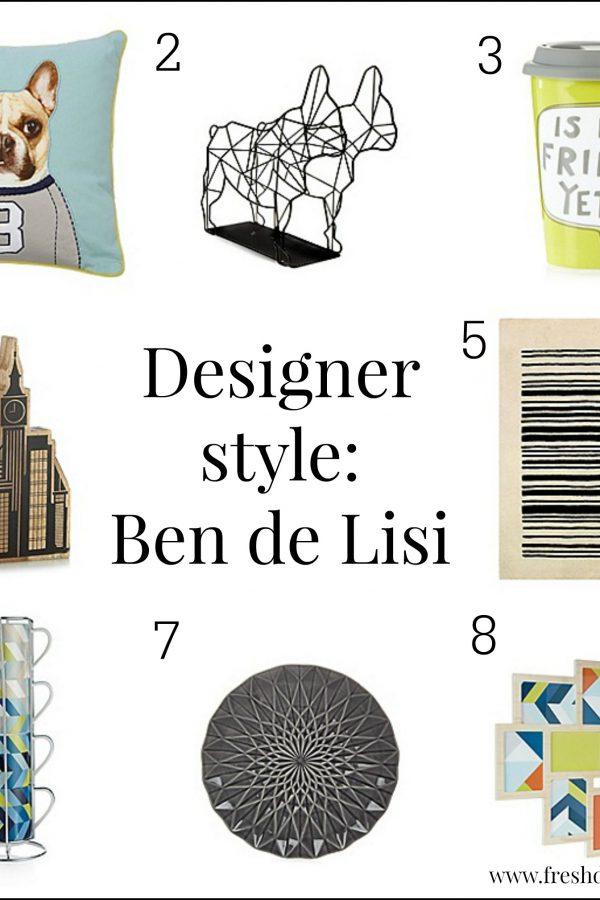 High street designer focus: Ben de Lisi homeware