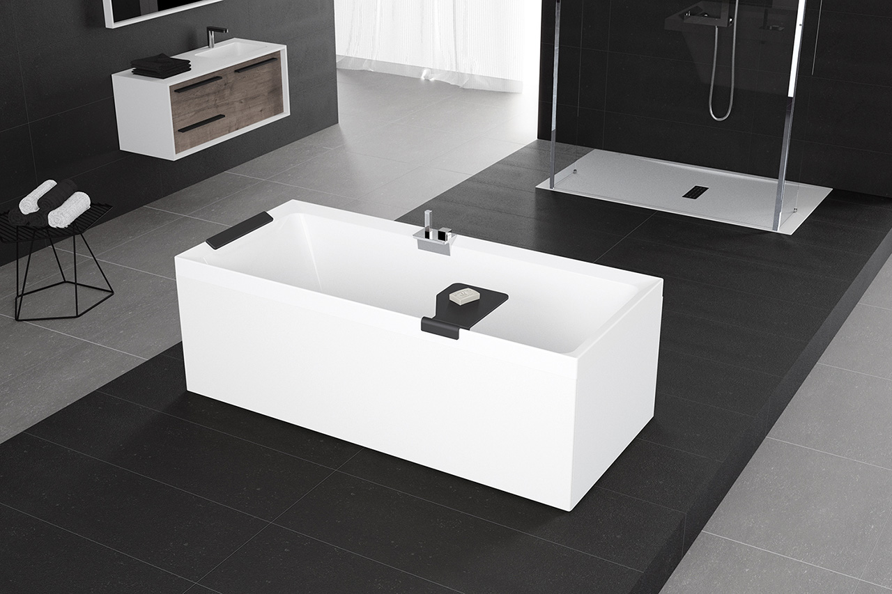 New contemporary bathroom concepts launched by novellini - Vasche da bagno retro ...
