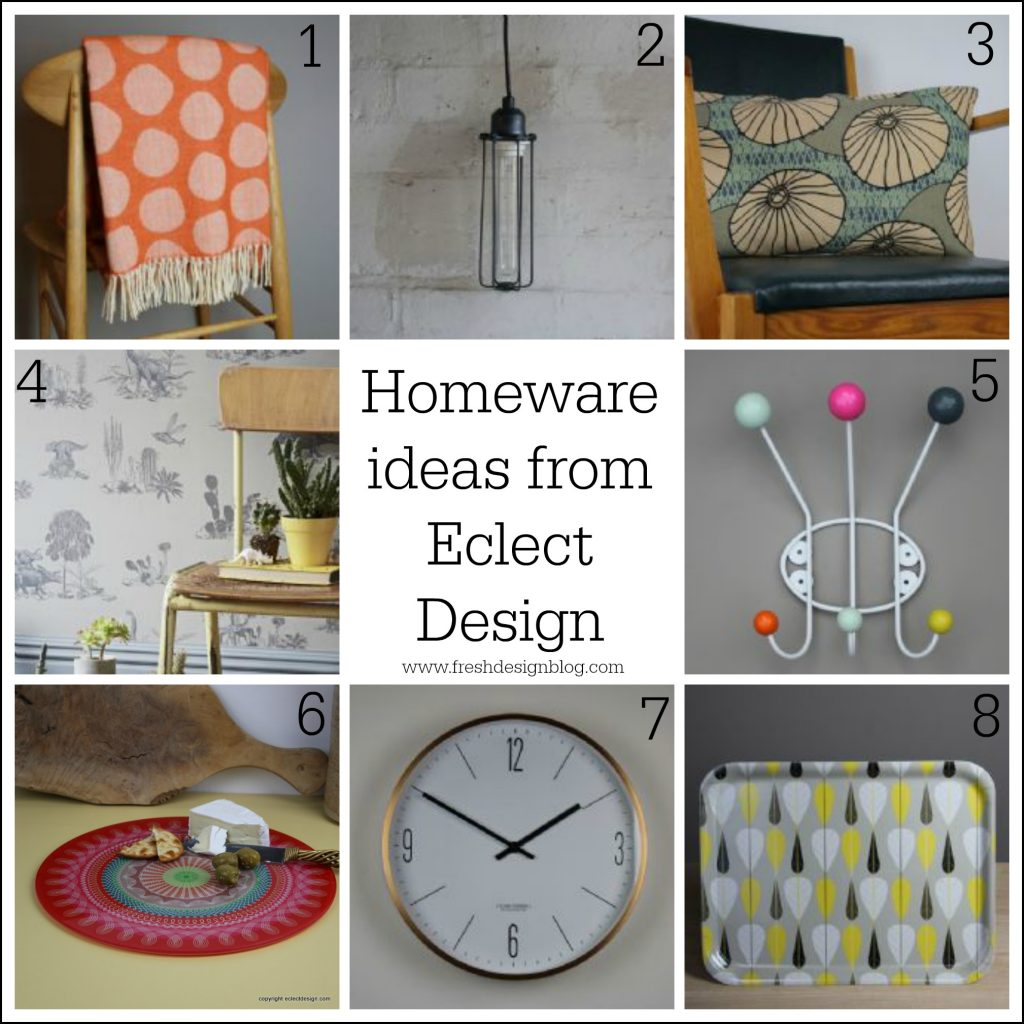 Fresh Design Blog features homeware from Eclect Design