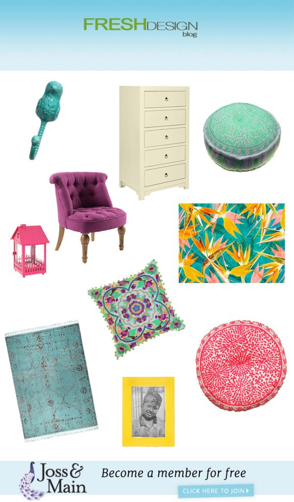 Spring in Bloom a Fresh Design curated collection for Joss and Main