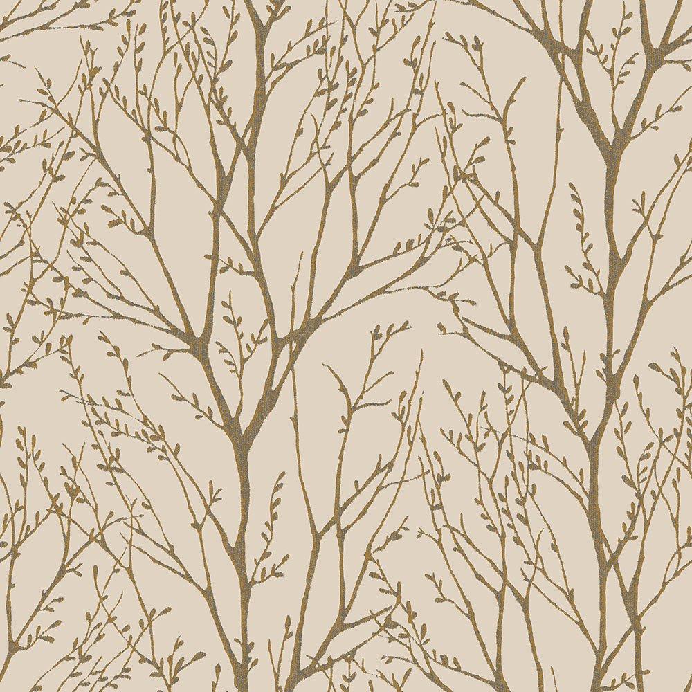 Natural tree design wallpaper