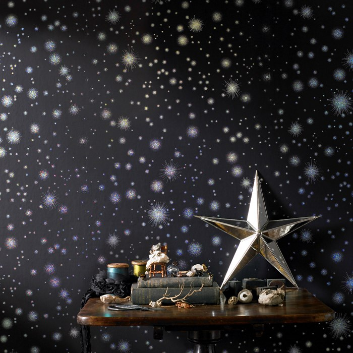 Star space children's room decor