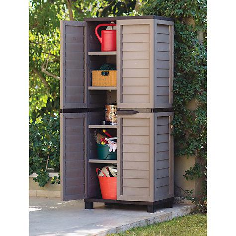 Space saving cabinet