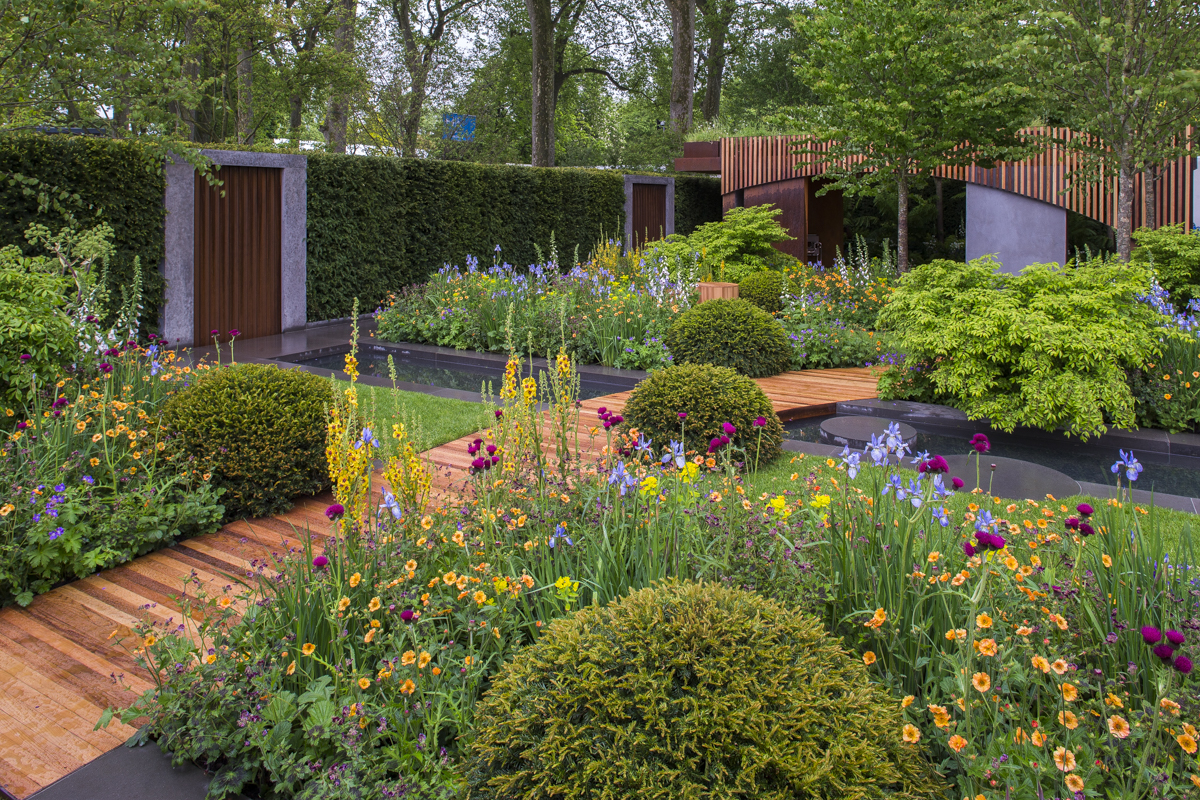 RHS Chelsea 2015 The Homebase Urban Retreat show garden
