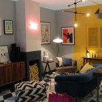 Fresh Design ideas: Colour block living room by Owl Design