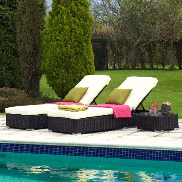 Fab Friday bargain: Luxury Riviera sun loungers and table set