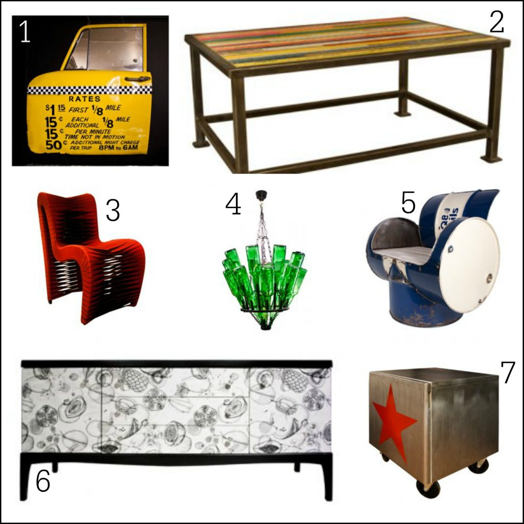 Contemporary upcycled home furniture ideas