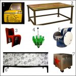 Weird and wonderful upcycled furniture ideas