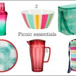 Outdoor eating: bright and cheery picnic essentials
