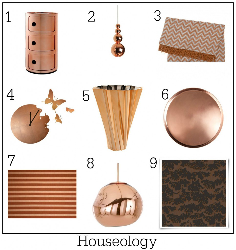Top designers do copper