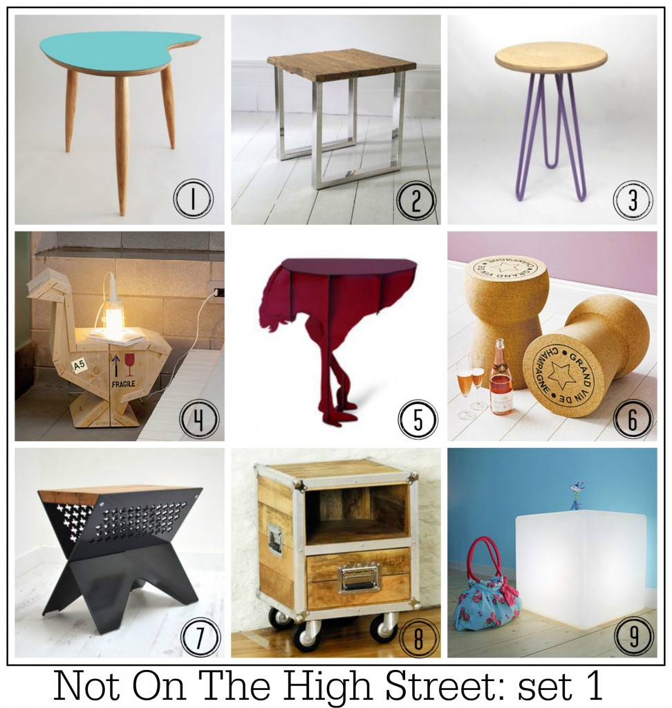 Table solutions 100 top contemporary design side tables for Coffee tables not on the high street