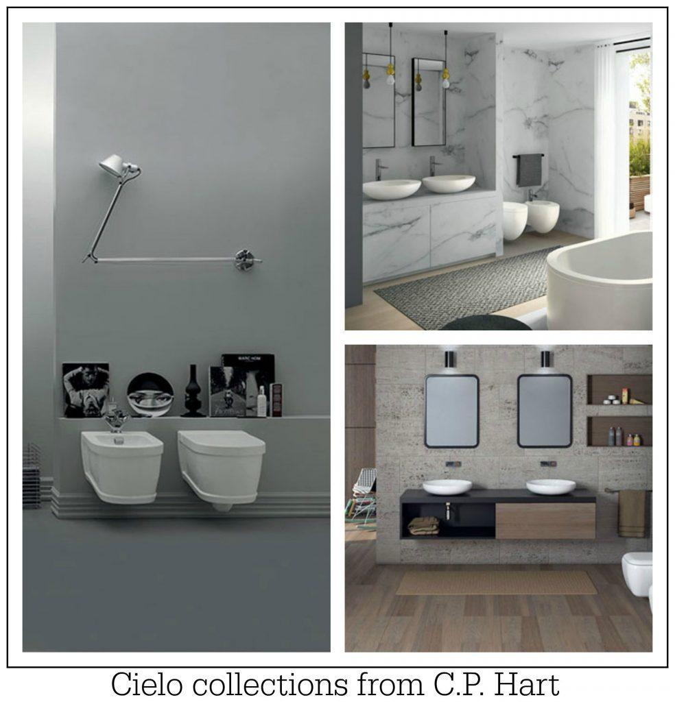 Luxury European bathroom design