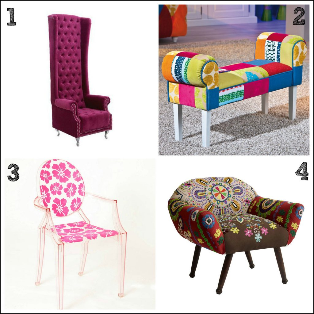 Fun and funky chairs for a contemporary home