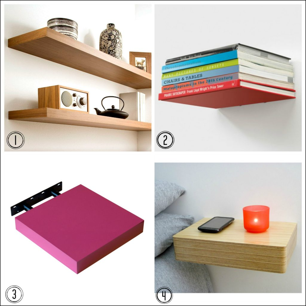 DIY help: how to hang floating shelves