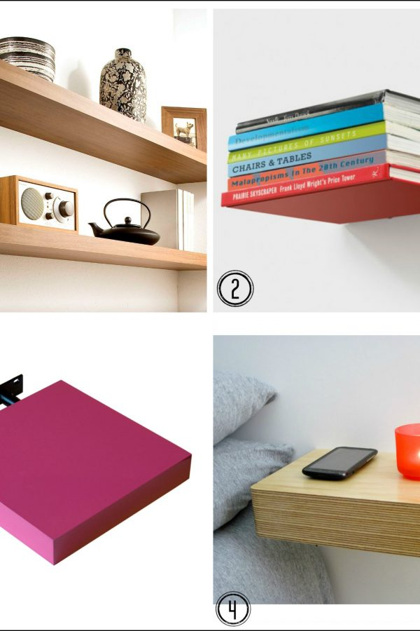 Hang a floating shelf with this Handy video