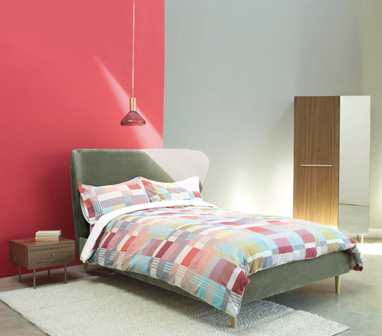 Bedroom Scandi style decorating ideas