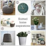 Cosy up your home with knitted style accessories
