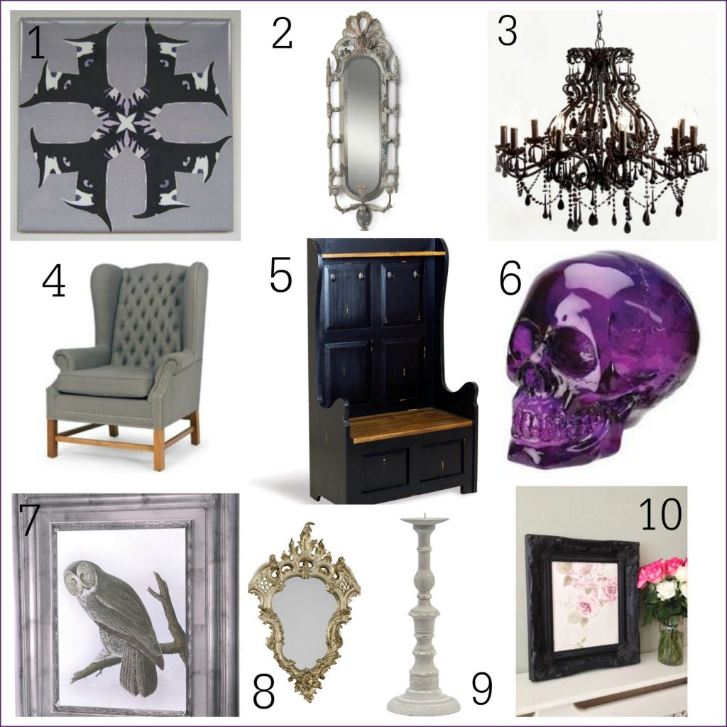 The dark side 10 Gothic inspired home accessories Fresh