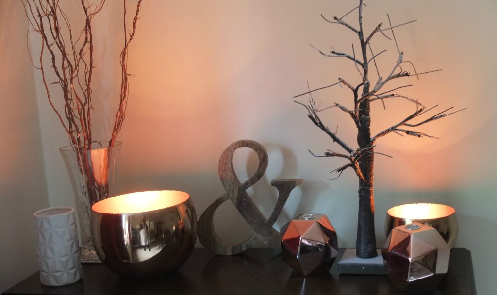 Using copper and wood to create a cosy winter home