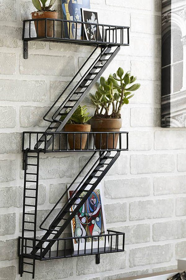 Quirky wall shelves for distinctive storage