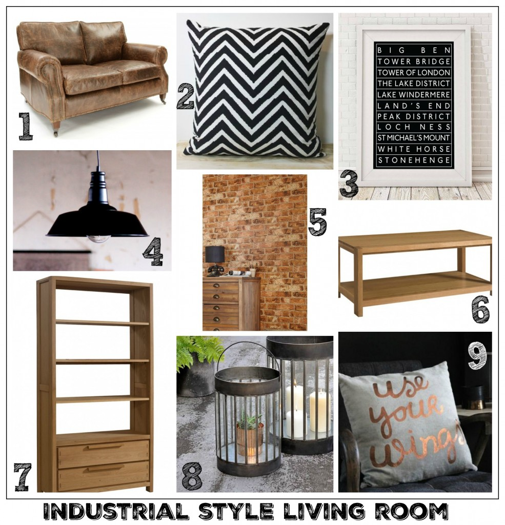 fresh design blog industrial style living room interior ideas 985x1024