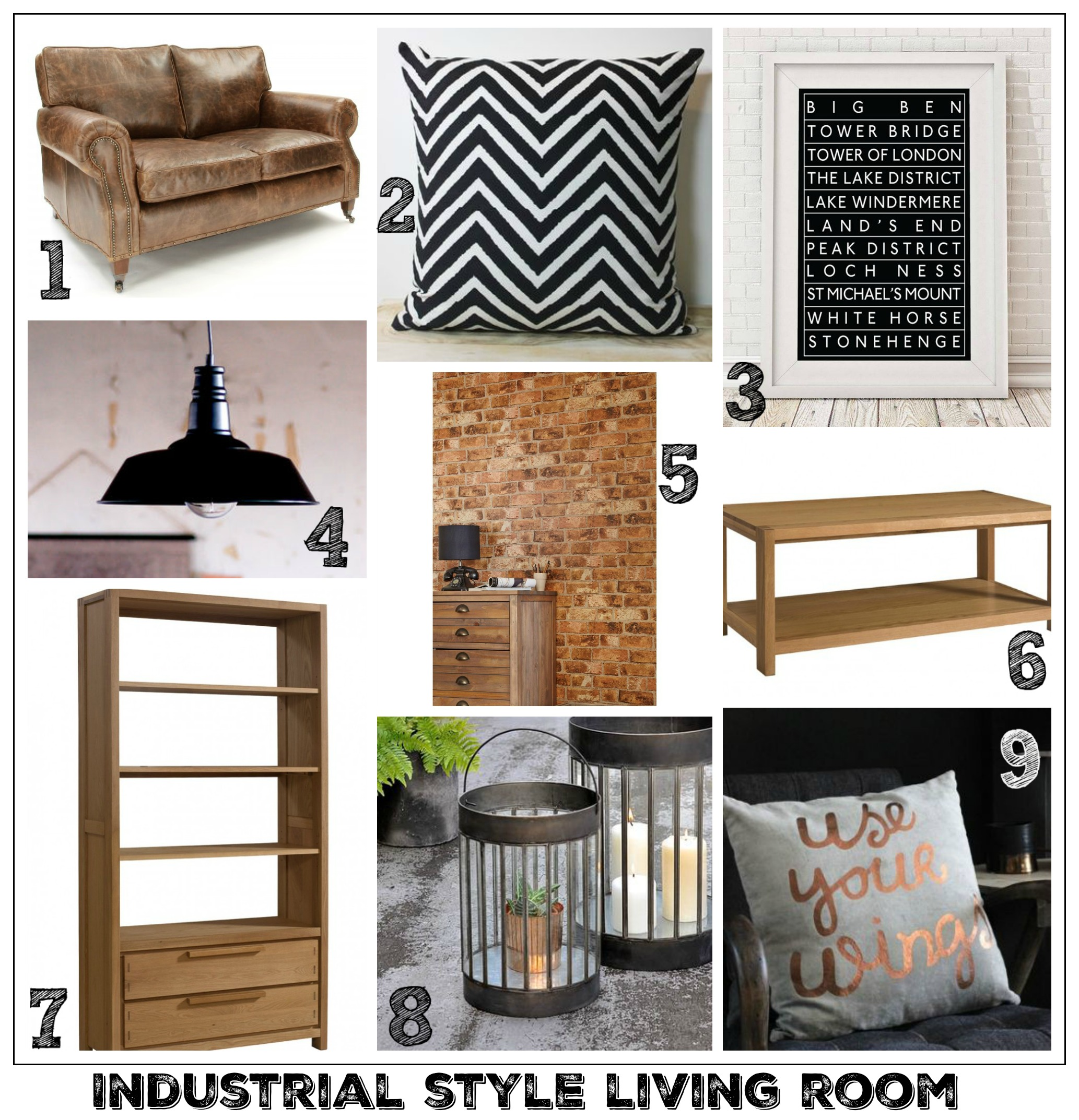 Living Room Industrial Style Living Room solid oak furniture for a modern industrial living room fresh style idea