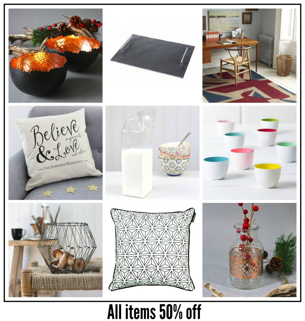 Fab Friday Bargains from Fresh Design Blog: Half price home gift ideas