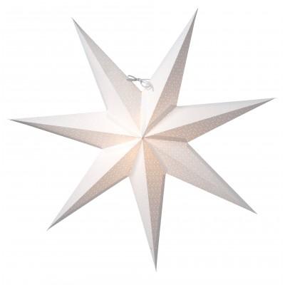 Aino Jackie K white slim Scandinavian star Christmas decoration and light