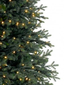 Realistic looking branches on the Balsam Hill Norway Spruce Christmas tree
