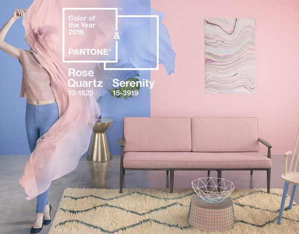 Wayfair home styling with Pantone Colours of the Year 2016