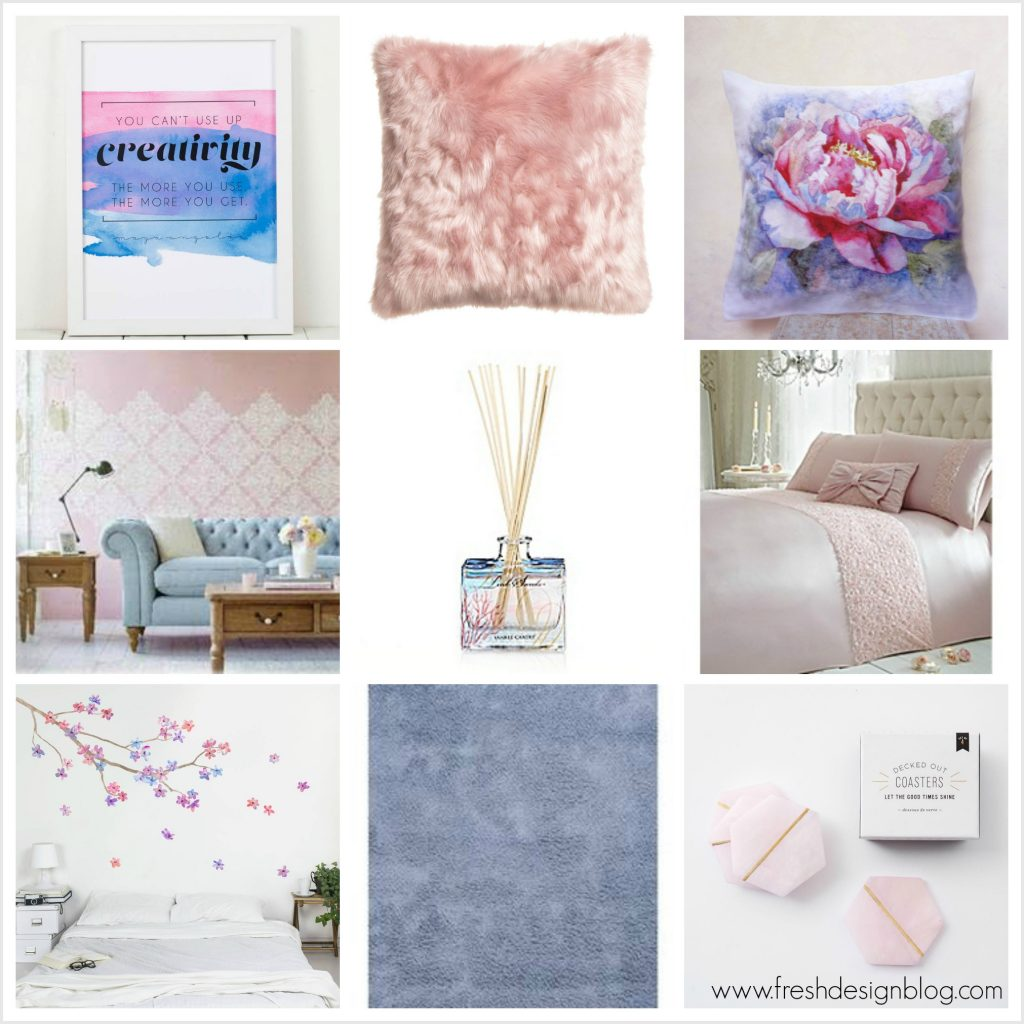 Pantone colour of the year 2016 rose quartz and serenity for Fresh design blog