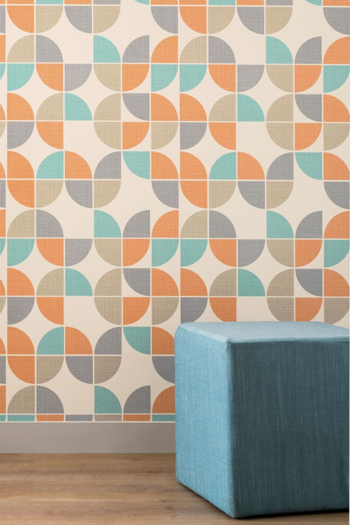 Affordable and stylish wallpaper from next fresh design blog - Retro wallpaper for walls ...