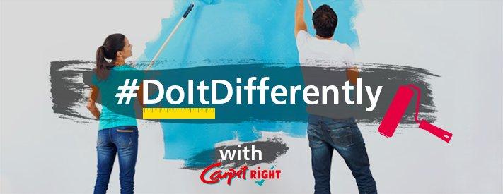 Carpetright #doitdifferently interior design campaign