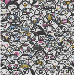 Fancy some aliens on your wall? This fun and funky Alien Crowd wallpaper could do the trick!