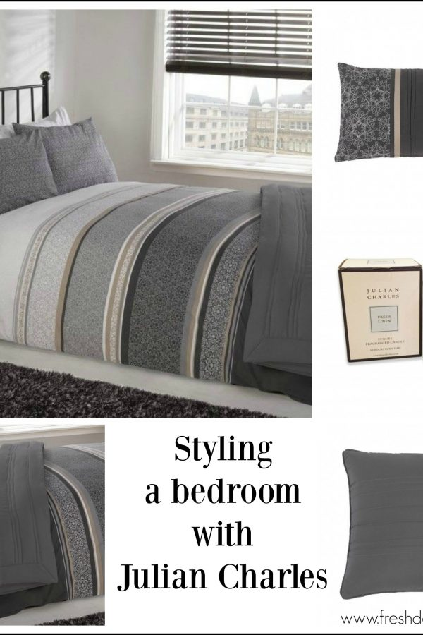 Shades of grey: Contemporary bedroom styling idea