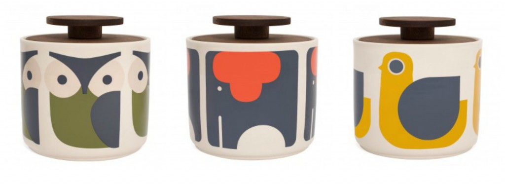 Love these Orla Kiely animal design storage jars - the elephant is our fave!