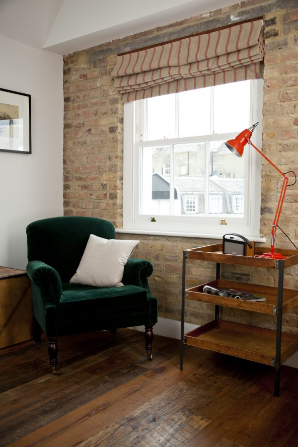 Wooden windows and window dressing ideas