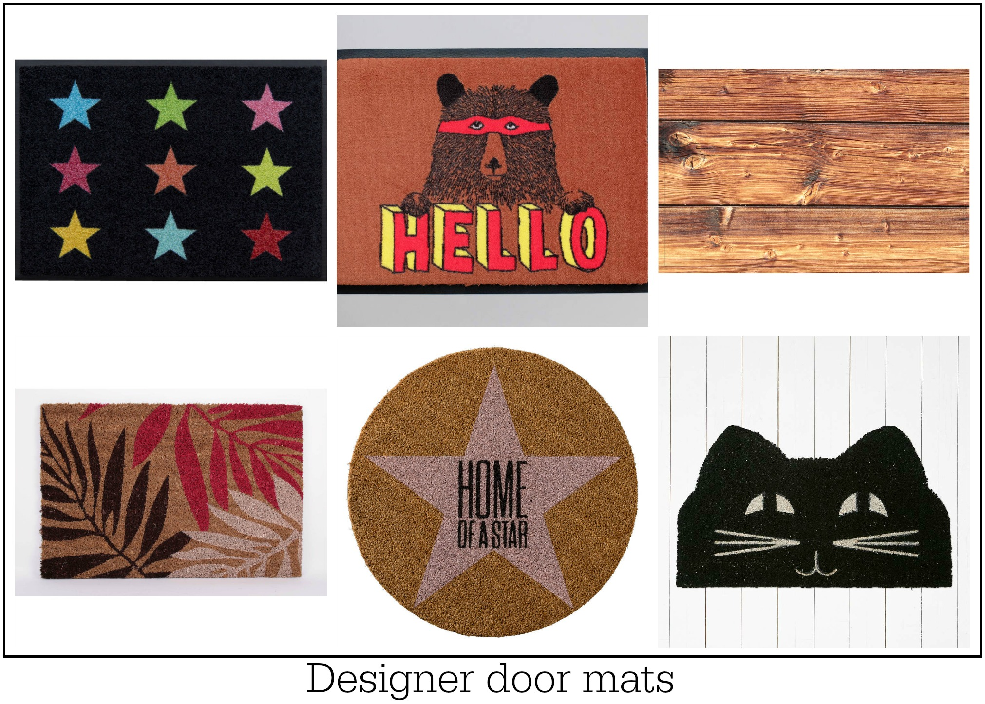 Step on it best door mats for every home budget fresh for Fresh design blog